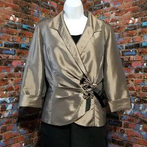 Dressy Taffeta Jacket